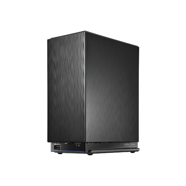 アイ・オー・データ機器 デュアルコアCPU搭載 ネットワーク接続ハードディスク(NAS) 2ドライブモデル 8TB HDL2-AAX8 送料込!