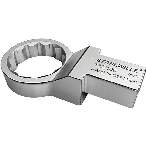 STAHLWILLE(スタビレー) 732/100-27 トルクレンチ差替ヘッド メガネ(58221027) 送料無料!