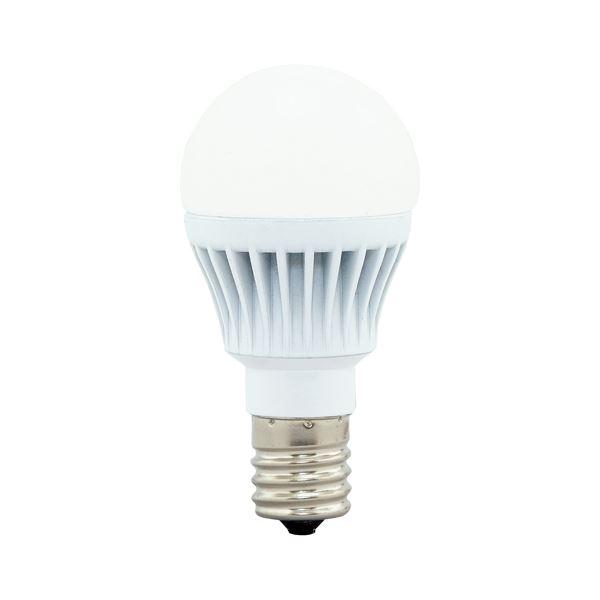(まとめ)アイリスオーヤマ LED電球60W E17 広配光 電球色 4個セット【×5セット】 送料込!