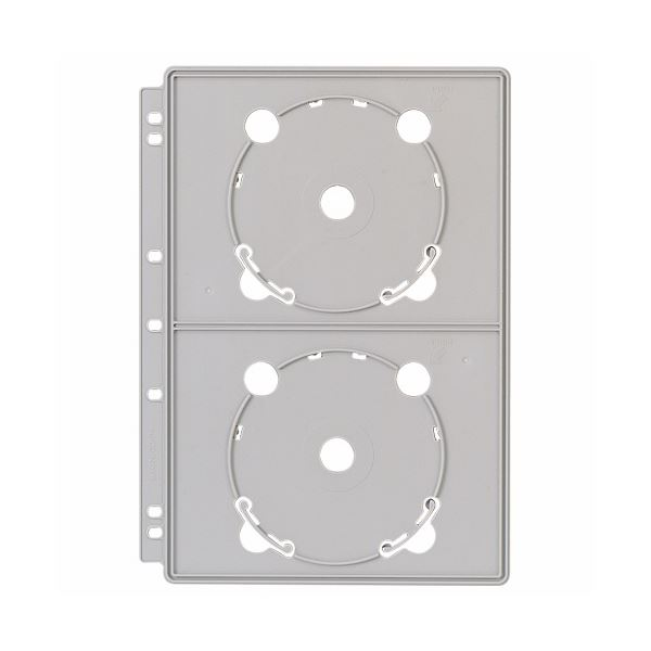 (まとめ) ライオン事務器 CDポケットバインダー追加用ポケット A4 2・3・4穴 両面4ポケット CD-P4 1枚 【×30セット】 送料無料!