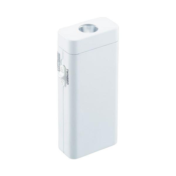 (まとめ) ツインバード工業 停電センサーLEDサーチライト LS-8557W【×5セット】 送料無料!