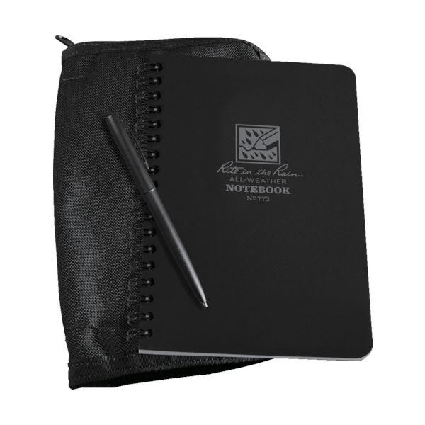 (まとめ)ライトインザレイン キットブラックブック/ブラックカバー 773B-KIT 1冊【×3セット】 送料無料!