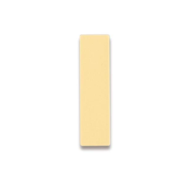 (まとめ) ライオン事務器 人名プレート裏面マグネット付 W22×H82×D5mm ベージュ No.10 1パック(10枚) 【×10セット】 送料無料!