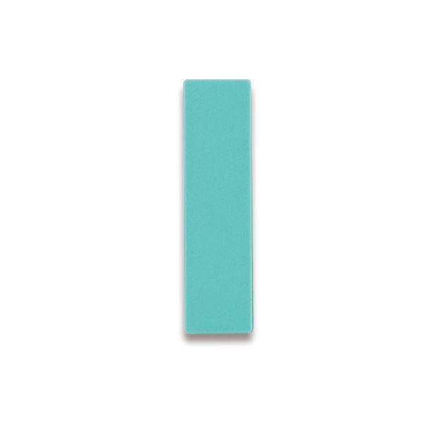 裏面がマグネット付きで使いやすい 片面式人名プレート まとめ ライオン事務器 人名プレート裏面マグネット付 W22×H82×D5mm No.10 1パック 10枚 送料無料 緑 至高 売店 ×10セット