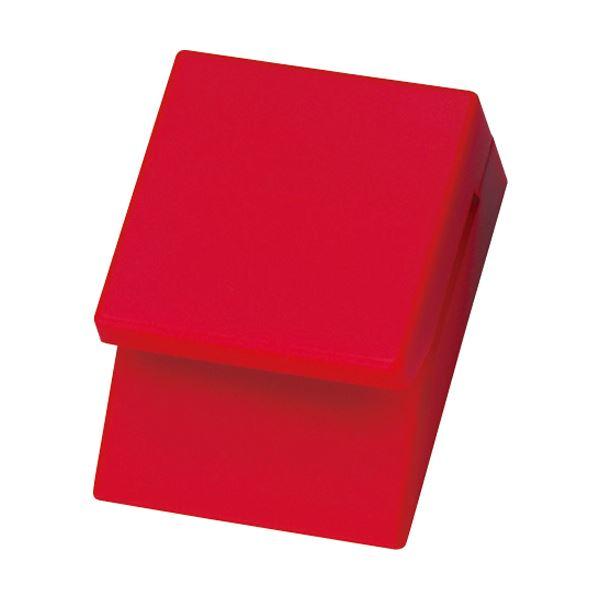 1個 TRUSCO 送料無料! (まとめ) 【×30セット】 マグネット式メモクリップ赤 TWMC-R