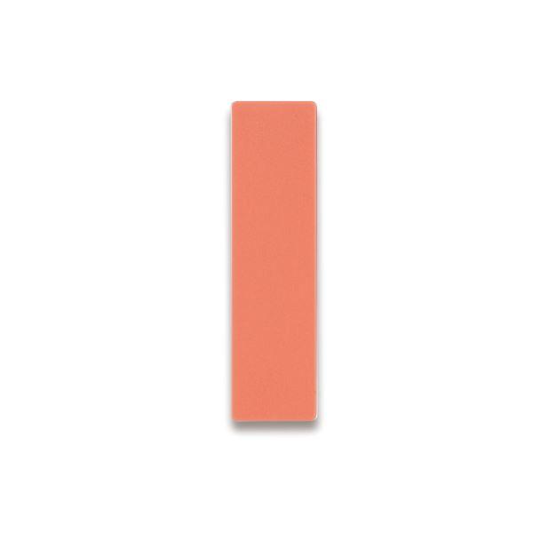(まとめ) ライオン事務器 人名プレート裏面マグネット付 W22×H82×D5mm 桃 No.10 1パック(10枚) 【×10セット】 送料無料!