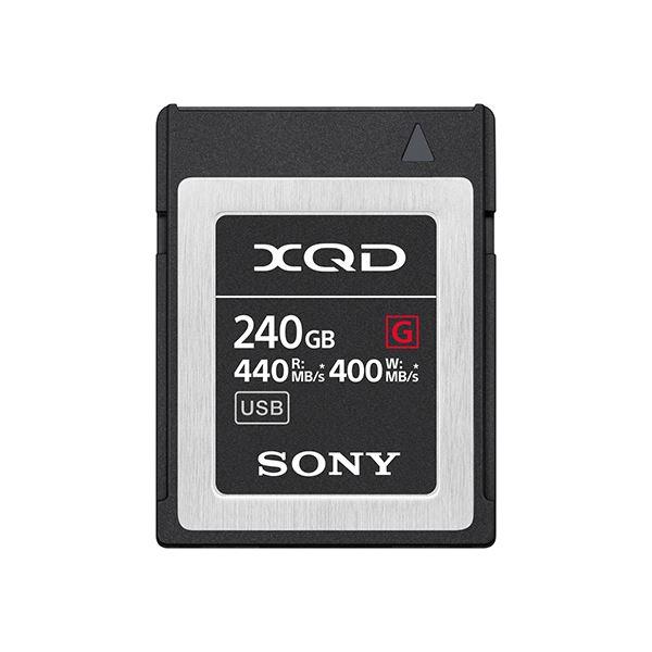 XQDメモリーカード Gシリーズ 240GB 送料無料!