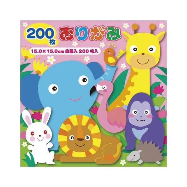 (まとめ) トーヨー 徳用おりがみ 15cm 200枚 No500【×50セット】 送料無料!
