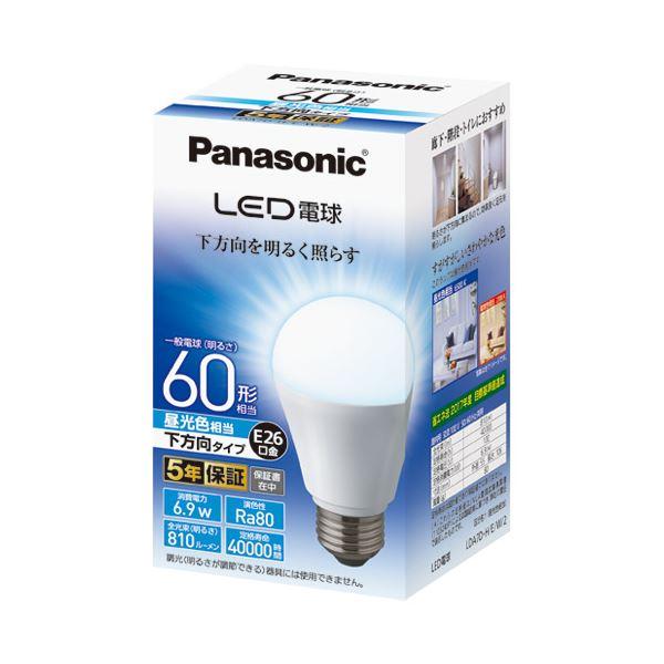 (まとめ) Panasonic LED電球60形 E26 下方向 昼光色 LDA7DHEW2【×5セット】 送料込!