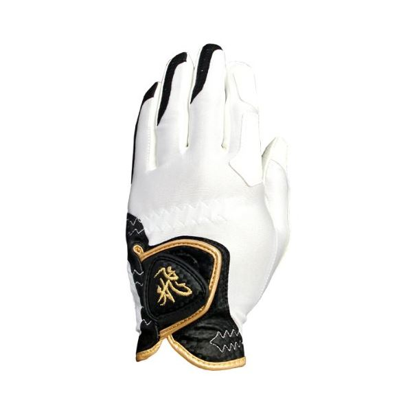 10個セット TOBIEMON R&A公認グローブ 左手着用 右利き用 白 Sサイズ TBGV-WSX10 送料無料!