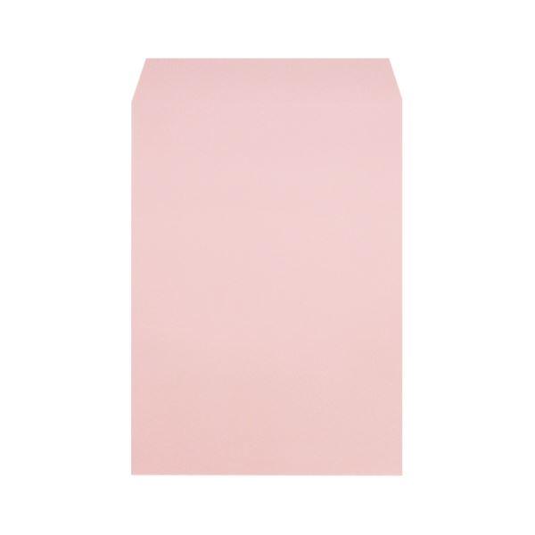 (まとめ)ムトウユニパック 再生カラー封筒511719140角2ピンク100P【×10セット】 送料込!