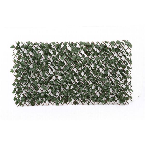伸縮グリーンフェンス 1m×2m 2個セット 代引不可 販売実績No.1 倉庫 送料込