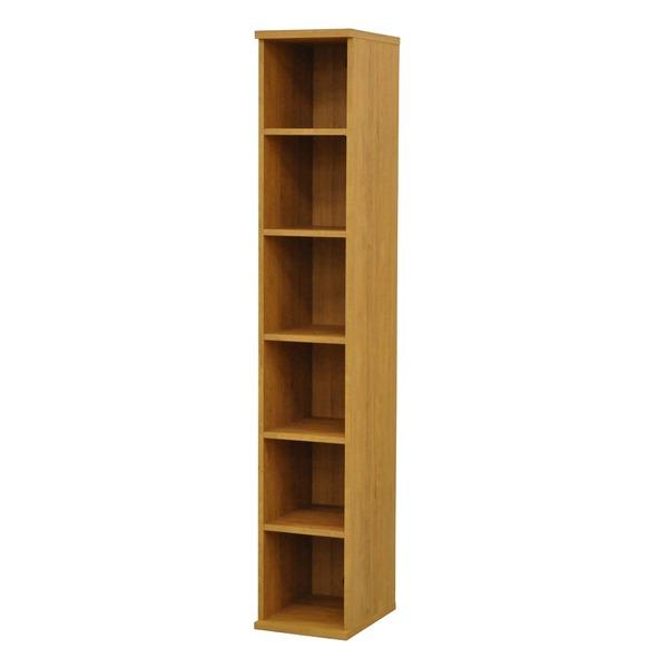 カラーボックス(収納棚/カスタマイズ家具) 6段 幅30×高さ177.9cm セレクト1830BR ブラウン【代引不可】 送料込!