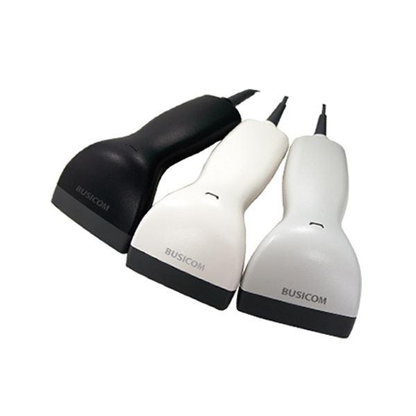 (まとめ)ビジコム バーコードリーダー2アレンジCCD USB ブラック BC-BR900L-B 1台【×3セット】 送料無料!