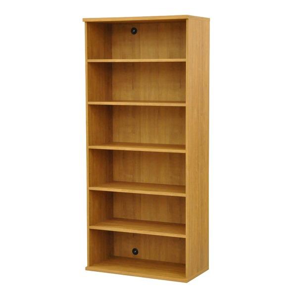 カラーボックス(収納棚/カスタマイズ家具) 6段 幅78.9×高さ177.9cm セレクト1880BR ブラウン【代引不可】 送料込!