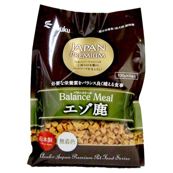 (まとめ)JAPAN PREMIUM バランスミール エゾ鹿 600g(ペット用品・犬フード)【×12セット】 送料込!