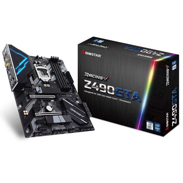 BIOSTAR Intel Z490 Chipset搭載ATXマザーボード/IntelLGA1200対応/DDR4-4400+MHz(OC)対応 Z490GTA 送料込!