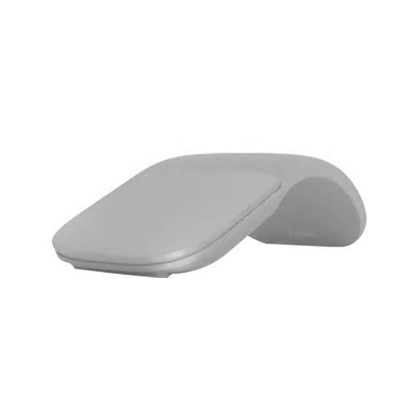 (まとめ)マイクロソフト Surface アークマウス ライトグレー FHD-00007O 1個【×3セット】 送料無料!