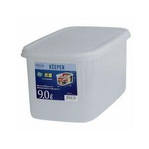(まとめ) 保存容器/ジャンボケース 【スリムS】 抗菌効果 キッチン用品 『キーパー』 【×12個セット】 送料込!