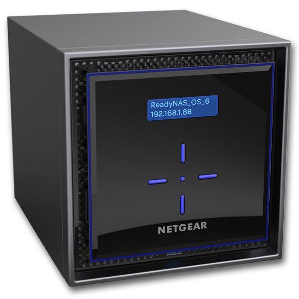 NETGEAR Inc. ReadyNAS 424 [5年保証] 4ベイデスクトップ 16TBモデル RN424E4-100AJS 送料込!