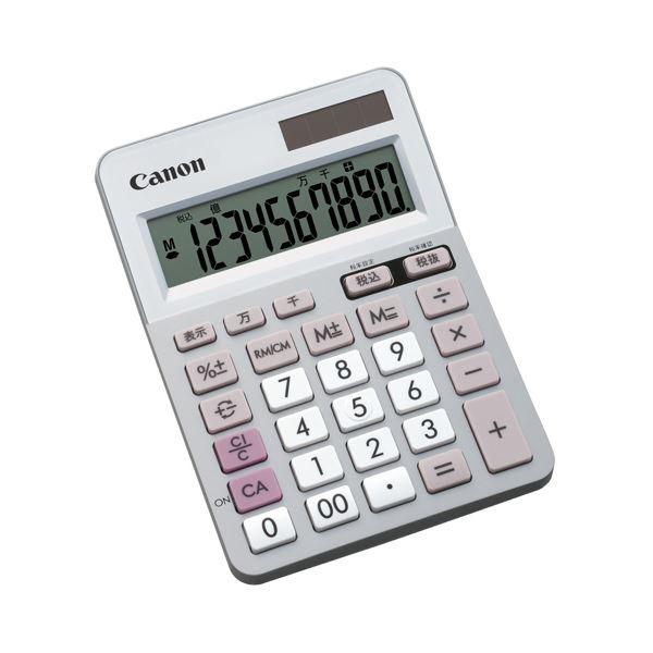 (まとめ) キヤノン Canon 電卓 LS-100TU 10桁 ミニ卓上タイプ 5625B001 1台 【×10セット】 送料無料!