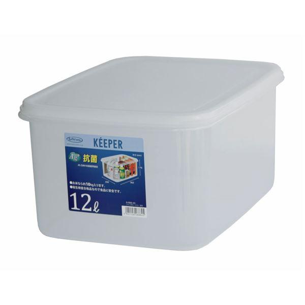 (まとめ) 保存容器/ジャンボケース 【L 深型】 抗菌効果 キッチン用品 『キーパー』 【×9個セット】 送料込!
