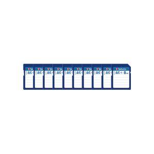バーベイタム SDHCカード 8GBClass4 業務用パック SDHC8GYVB1C 1セット(10枚) 送料無料!