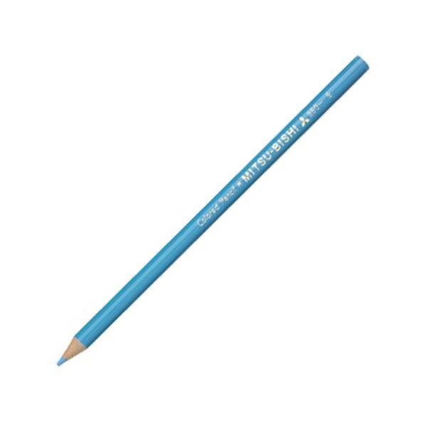 (まとめ) 三菱鉛筆 色鉛筆880級 みずいろK880.8 1ダース 【×30セット】 送料無料!