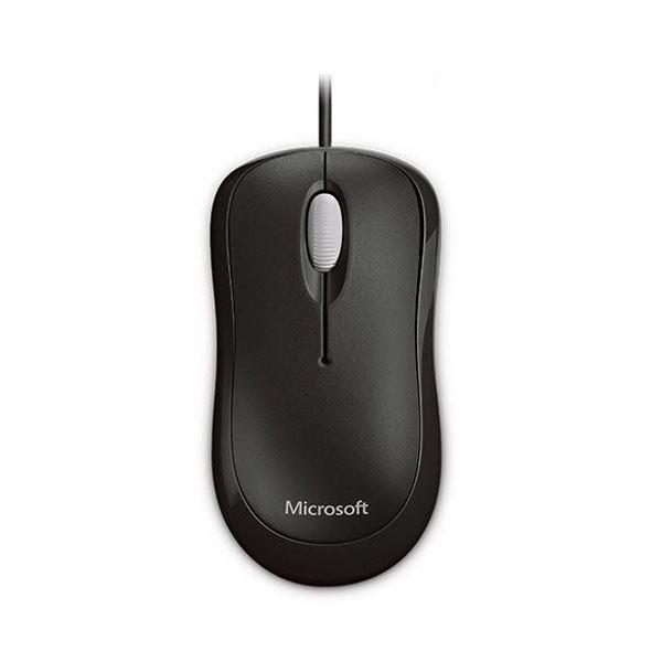 (まとめ) マイクロソフト ベーシック オプティカルマウス ブラック P58-00071 1台 【×10セット】 送料無料!