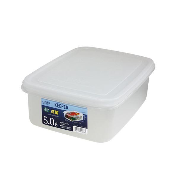 (まとめ) 保存容器/ジャンボケース 【M】 抗菌効果 キッチン用品 『キーパー』 【×24個セット】 送料込!