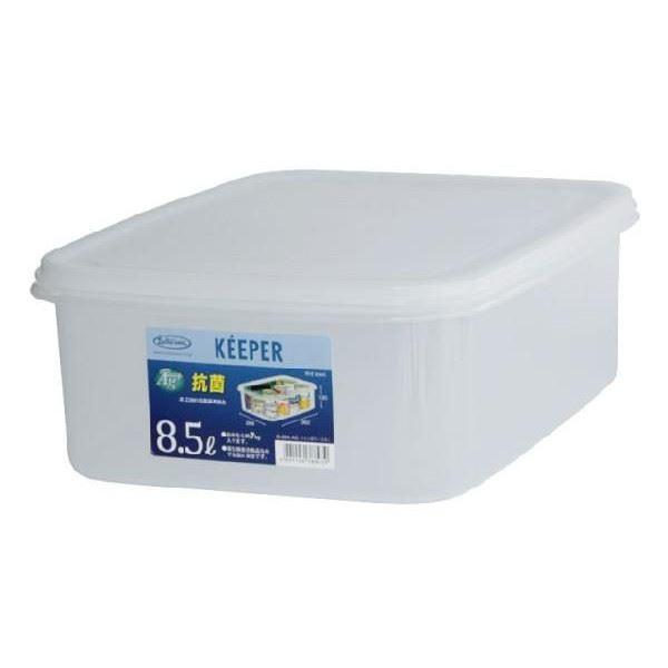 (まとめ) 保存容器/ジャンボケース 【L】 抗菌効果 キッチン用品 『キーパー』 【×15個セット】 送料込!