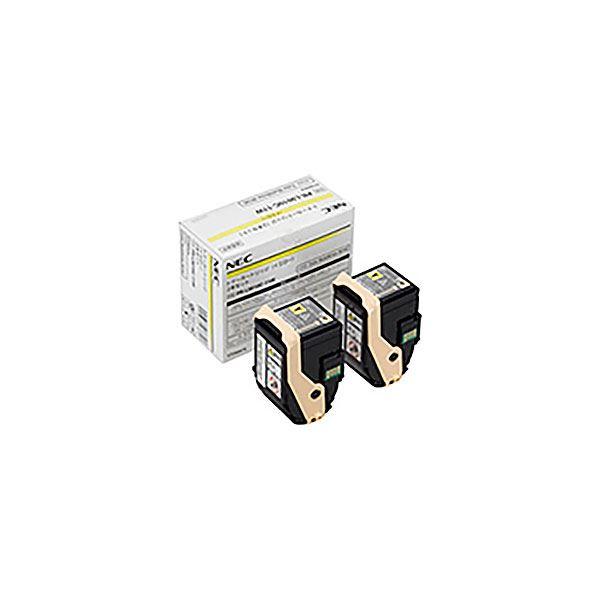 日本電気 インクトナーカートリッジ 黄 きいろ 【純正品】 NEC エヌイーシー トナーカートリッジ 【PR-L9010C-11W YX2 イエロー】 2本セット 送料無料!