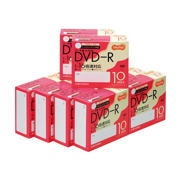 (まとめ)TANOSEE データ用DVD-R4.7GB 1-16倍速 ホワイトワイドプリンタブル 5mmスリムケース DHR47JP10T1セット(100枚:10枚×10パック)【×3セット】 送料無料!