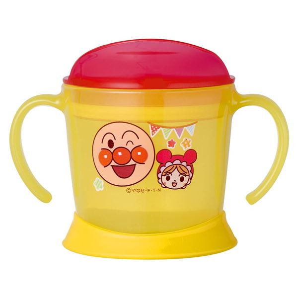 【アンパンマン】 子供用 ステップアップコップ/マグカップ 【約140ml】 両手付きマグ 柔らか底面 【120個セット】 送料込!