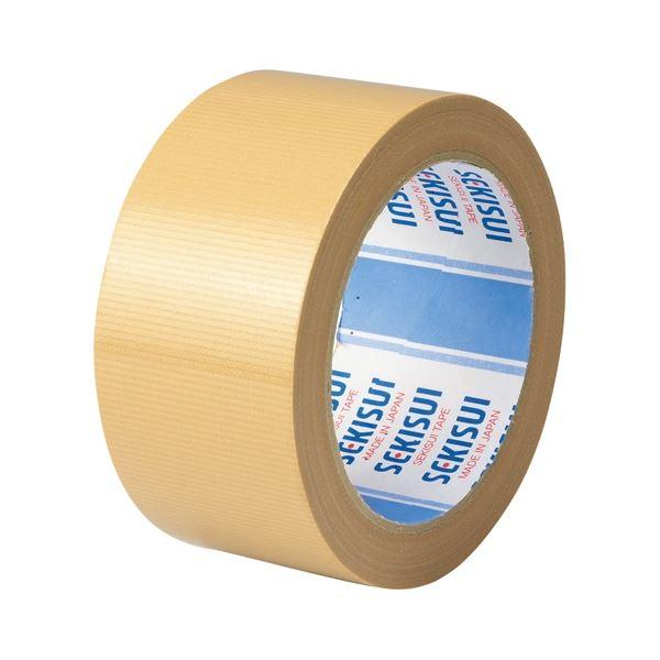 (まとめ)セキスイ 布テープ NO.600A 50mm×25m 茶 N60XA03【×100セット】 送料込!