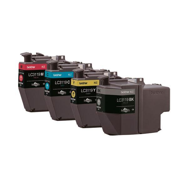 ブラザー インクカートリッジLC3119-4PK 送料無料!