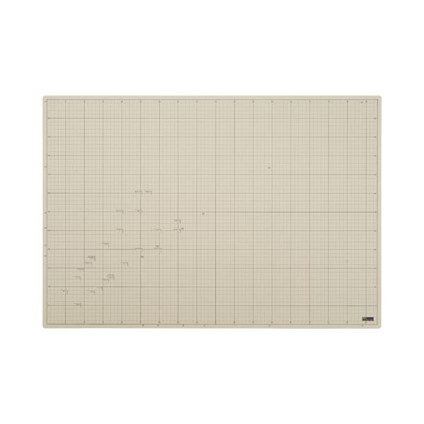 送料無料! (まとめ)TANOSEE 620×900mm 滑りにくいカッターマット A1 1枚【×3セット】