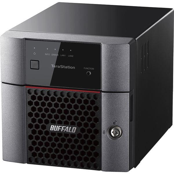 バッファロー TeraStation TS3210DNシリーズ 小規模オフィス・SOHO向け 2ドライブNAS4TB TS3210DN0402 送料無料!