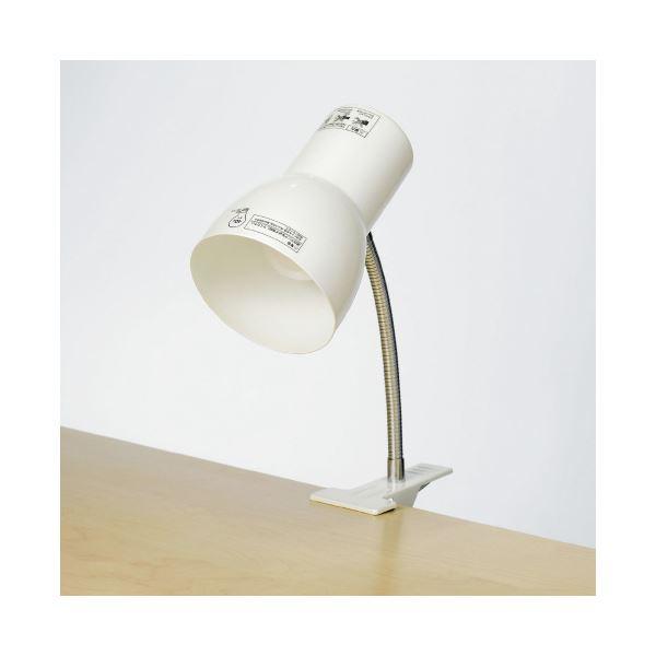 (まとめ)朝日電器 クリップライト SPOT-BLNE26C(PW)(×5セット) 送料無料!