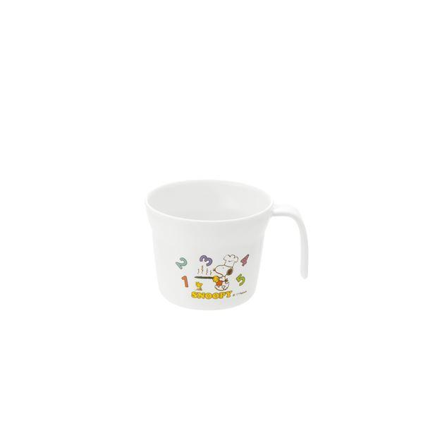 (まとめ) マグカップ/お子様用プラスチックカップ 【205ml】 食洗機・電子レンジ対応 スヌーピー柄 『トライ』 【×60個セット】 送料込!
