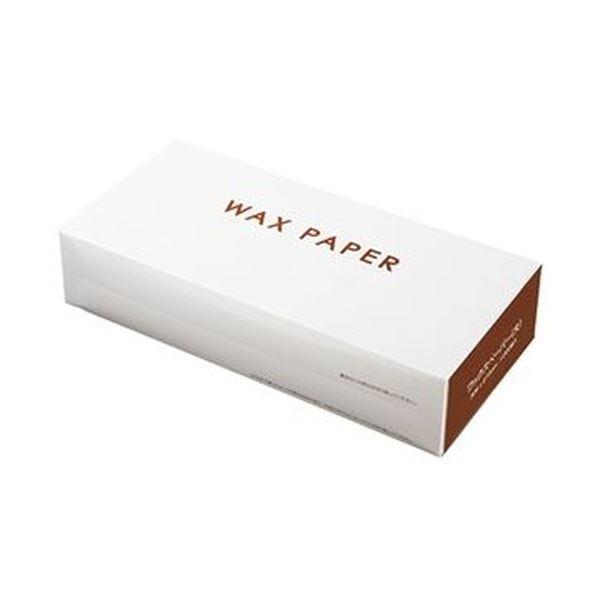 (まとめ)水野産業 ワックスペーパー 大 ホワイト 1箱(1000枚)【×3セット】 送料無料!