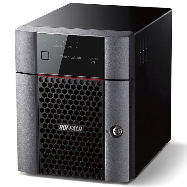 バッファロー TeraStation TS3410DNシリーズ 小規模オフィス・SOHO向け 4ドライブNAS2TB TS3410DN0204 送料無料!