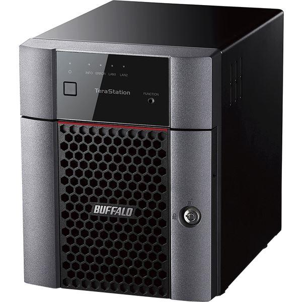 バッファロー TeraStation TS3410DNシリーズ 小規模オフィス・SOHO向け 4ドライブNAS8TB TS3410DN0804 送料無料!