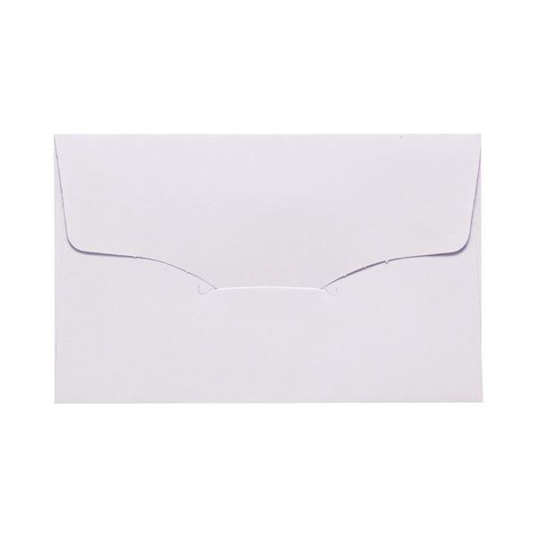 1セット(100枚:10枚×10パック) 白 名刺型封筒 112×70mm 送料無料! ベ567 (まとめ) 100g/m2 【×10セット】