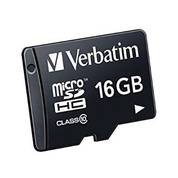 (まとめ) バーベイタム micro SDHCCard 16GB Class10 MHCN16GJVZ1 1枚 【×10セット】 送料無料!