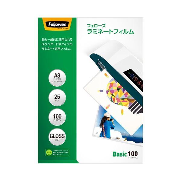 (まとめ)フェローズジャパン ラミネートフィルムA3 25枚 5848801【×30セット】 送料込!
