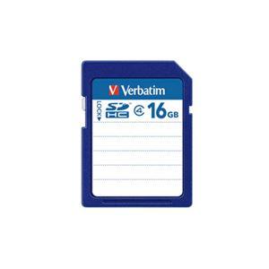 (まとめ) バーベイタム SDHCカード 16GBClass4 SDHC16GYVB1 1枚 【×10セット】 送料無料!