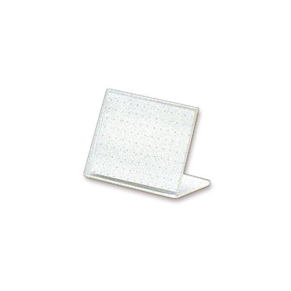 (まとめ) ライオン事務器 カード立L型(再生PET樹脂製) W65×H45mm L-65K 1セット(20個) 【×5セット】 送料無料!