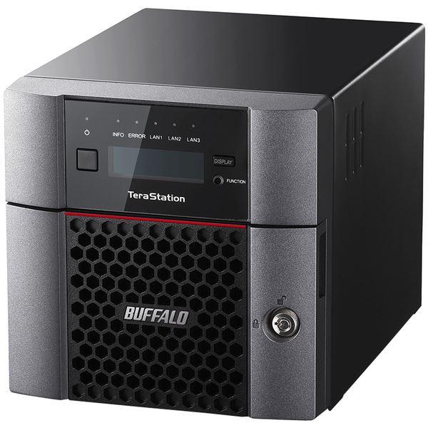 バッファロー TeraStation TS5210DNシリーズ 10GbE標準搭載 法人向け 2ドライブNAS4TB TS5210DN0402 送料無料!