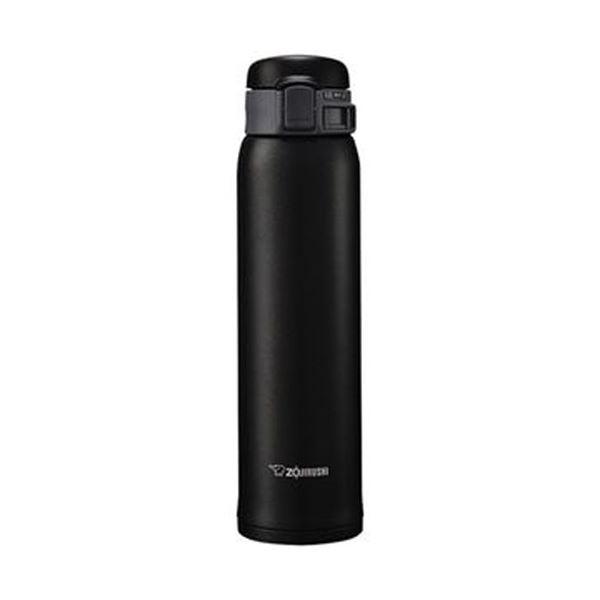 (まとめ)象印 ステンレスボトル SM-SE型60サイズ(0.60L)マットブラック SM-SE60-BZ 1本【×3セット】 送料無料!